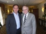 Oliver Krautscheid mit Warren Buffet in Omaha